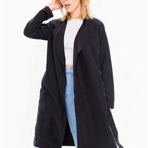 AMERICAN APPAREL DYLAN DUSTER COAT